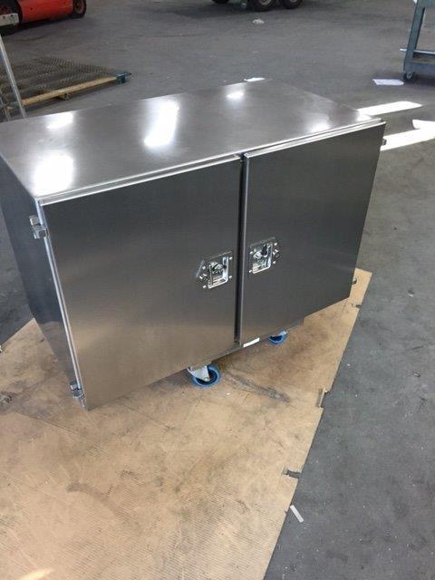 RVS onderbouw gereedschapkast truck